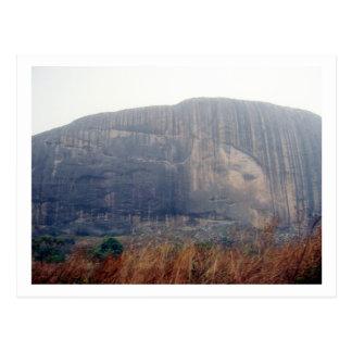 Zuma Rock, Nigeria Postcard