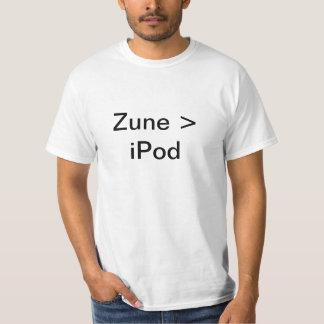 Zune > iPod T-Shirt