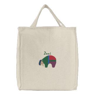 Zuni Bear Native American Symbol Design 2 Bags