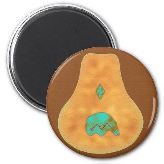 Zuni Native American Bear Icon Magnet
