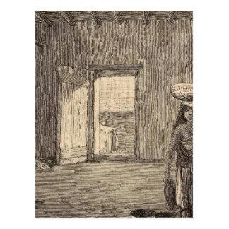 Zuni room postcard