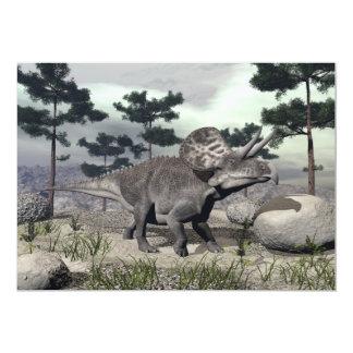 Zuniceratops dinosaur - 3D render Card