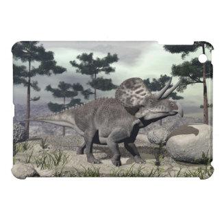 Zuniceratops dinosaur - 3D render iPad Mini Case
