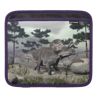 Zuniceratops dinosaur - 3D render iPad Sleeve