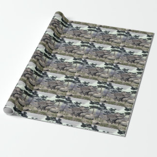 Zuniceratops dinosaur - 3D render Wrapping Paper