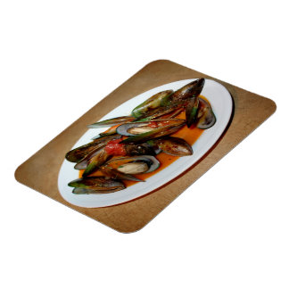 Zuppa di Mussels Vinyl Magnets