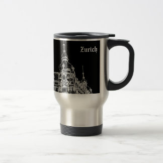 Zurich architecture travel mug