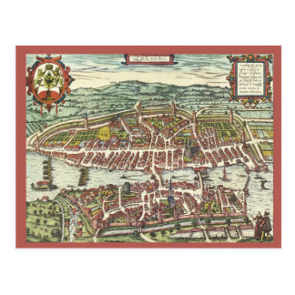 Zurich in the 16th century postcard