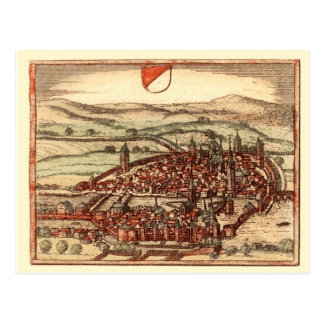 Zurich in the 16th century post card