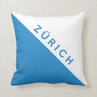 Zurich province Switzerland swiss flag region Cushion