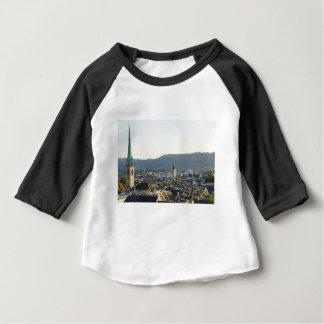 Zurich Switzerland Skyline Baby T-Shirt