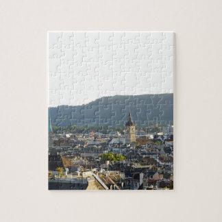 Zurich Switzerland Skyline Jigsaw Puzzle