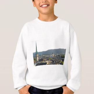 Zurich Switzerland Skyline Sweatshirt
