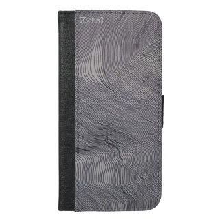Zwissl Grey iPhone 6 style iPhone 6/6s Plus Wallet Case