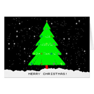 ZXSpectrum Christmas. Card