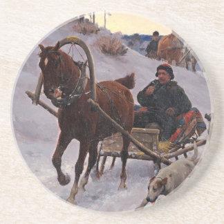 Zygmunt_Ajdukiewicz_Polnische_Schlittenfahrt Coaster