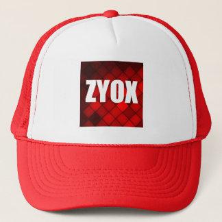 ZYOX Cap, Red Trucker Hat