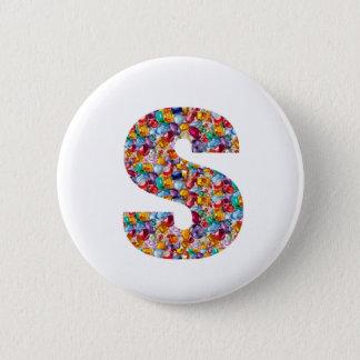 ZZZ YYY AAA SSS ZZ YY AA SS Z Y A S Gifts FUN ALPH 6 Cm Round Badge