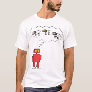 zzzzZZ Counting Robot Sheep T-Shirt